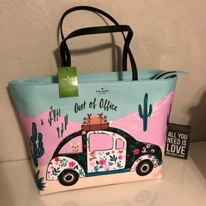 Kate spade out of office tote